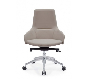 China Newcity 6683B Modern High-end Office Furniture Office Administrative Office Chair New Design PU Office Chair Fashionable Middle Back Chinese Foshan Supplier factory