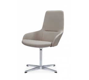 China Newcity 6683C High Quality Luxury Comfortable Visitor Chair CEO High-end  Visitor Chair Moulded Foam Visitor Chair Without Wheels Office Chair Supplier Chinese Foshan factory