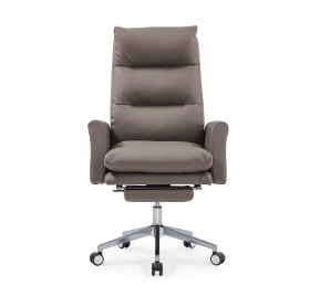 China Newcity 6686 Factory Unique Design Recliner Office Chair Customer Chair With Customize Logo Office Chair PU Leather Finish CEO Office Chair Chinese Foshan factory