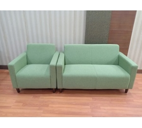China Newcity S-1038 Green Style Office Sofa High Quality Living Room  Office Furniture Sofa Hot Sale Luxury European Office Sofa Supplier Foshan China factory
