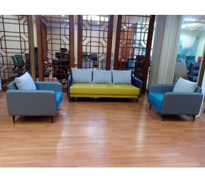 China Newcity S-1069 Modern Luxury Furniture Sofa Home Furniture Living Room PU Sofa High Quality Waiting Room Office Furniture Office Sofa Supplier Foshan China factory