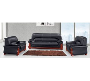 China Newcity S-855 Indoor Sofa Set Living Room Office Chair Modern Unique Design Sofas Simple Wooden Office Sofa Hotel Durable Office Sofa  Chinese Foshan Supplier factory