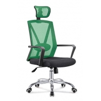China Newcity 1067 Swivel Mesh Chair PP With Glassfibre Mesh Chair Tilt & Lock Mechanism High Back Manager Chair Original Foam BIFMA Standard 50mm Nylon Castor Supplier Foshan China factory