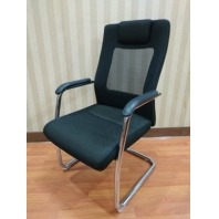 China Newcity 1256 Cheap Modern Office Chair Economic Mesh Chair Stable Round Tube Visitor Chair For Conference Room New Design Mesh Chair Supplier Foshan China factory