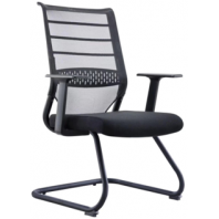 China Newcity 1387C Office Visitor Mesh Chair Economic Mesh Chair Fixed Foot Mesh Chair Staff Mesh Chair High Quality Fabric Mesh Chair Foshan China factory