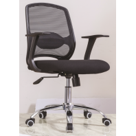 China Newcity 1388B Economic Swivel Mesh Chair 12mm Plywood Seat Mesh Chair Executive Chair Middle Back Staff Chair BIFMA Standard Chinese Supplier Foshan factory