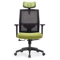 China Newcity 1396A Hot Sale Modern Ergonomic Mesh Chair Economic Swivel Mesh Chair High End Manager Executive Mesh Chair With Headrest  Mesh Chair Foshan China factory