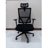 China Newcity 1399A Hot Sale Economic Mesh Chair High Quality Mesh Chair Modern Computer Mesh Chair Manager Mesh Chair Executive With Headrest Mesh Chair Foshan China factory
