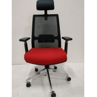 China Newcity 1512A-1 Ergonomic High Back Mesh Chair Economic Swivel Mesh Chair Executive Mesh Chair Modern Simple Mesh Chair Nylon Castor Mesh Chair Supplier Foshan China factory
