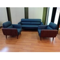 China Newcity S-1071 Factory Price PU Leather Sectional 1+1+3 For Reception Office Sofa Modern Design Hot sale Executive Office Sofa Simple And High Quality Office Sofa Supplier Foshan China factory